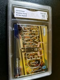 Steph Curry Get Hyped GEM MINT 10 Blacklick, 43004