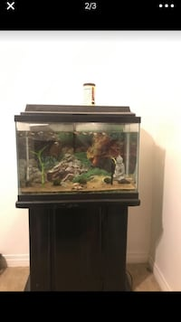 Fish tank comes with everything and fish (open to trades) Lemon Grove, 91945