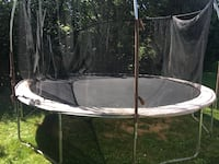 Large used trampoline free - needs parts, must disassemble the trampoline.  The frame and all metal parts are ok Chadds Ford, 19317