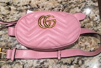 pink and black leather wristlet Toronto, M5T