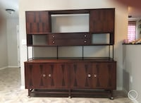 Mid Century Modern Stanley Credenza with hutch Lake Wales, 33859