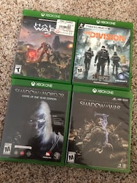 Xbox 1 Games for Sale! Lincoln, 68508