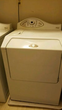 white front-load clothes dryer Sterling, 20165
