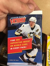 Upper Deck Victory 2007-2008 trading card pack Dartmouth, B2W