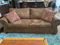 Brown Couch Eagle, 83616