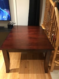 6 seater kitchen table with leaf