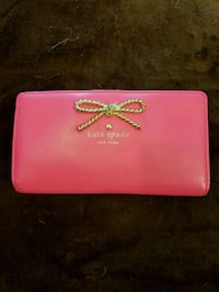 Pink Kate Spade leather wallet Charlotte, 28277