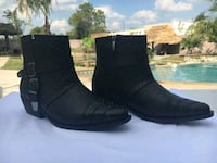 Black Ankle Boots Houston, 77064