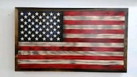 red, white, and black abstract painting Great Mills, 20634