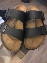 pair of brown leather sandals Dartmouth, B3A