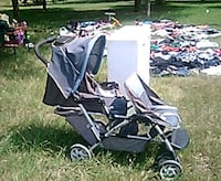 baby's gray and black tandem stroller Waco, 76712