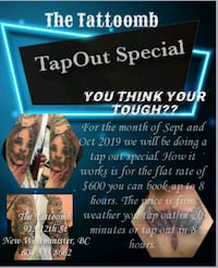 Tattooing, tattoo  New Westminster