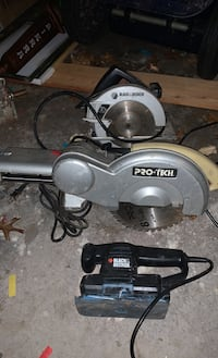 Saws and sander