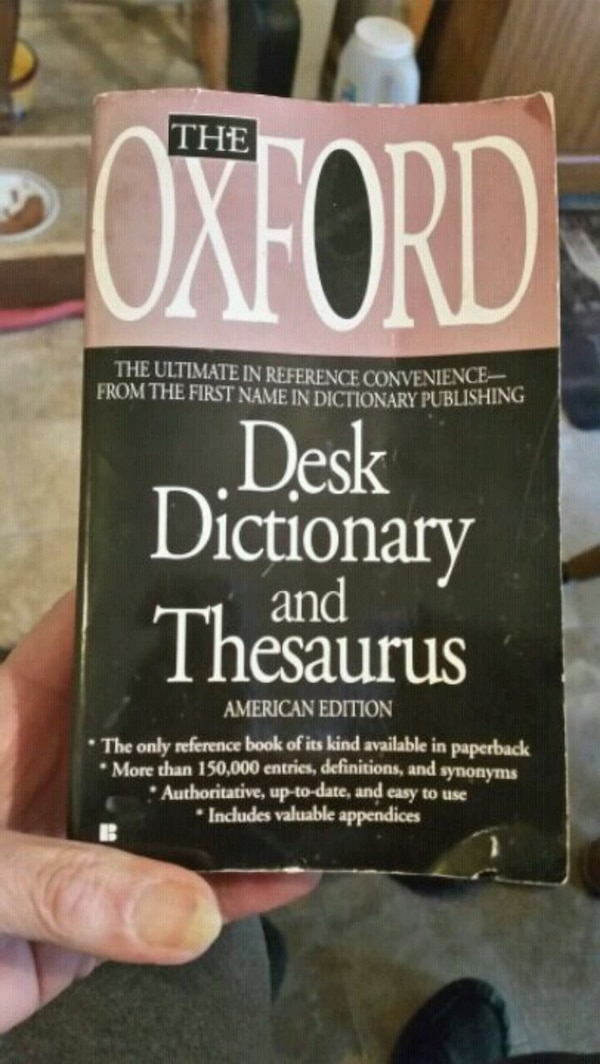 Paperback Dictionary & Thesaurus