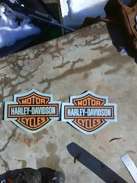 2 Harley mouse pads