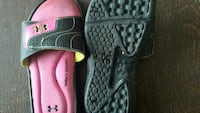 pair of black-and-pink Nike sneakers Namao, T0A 2N0