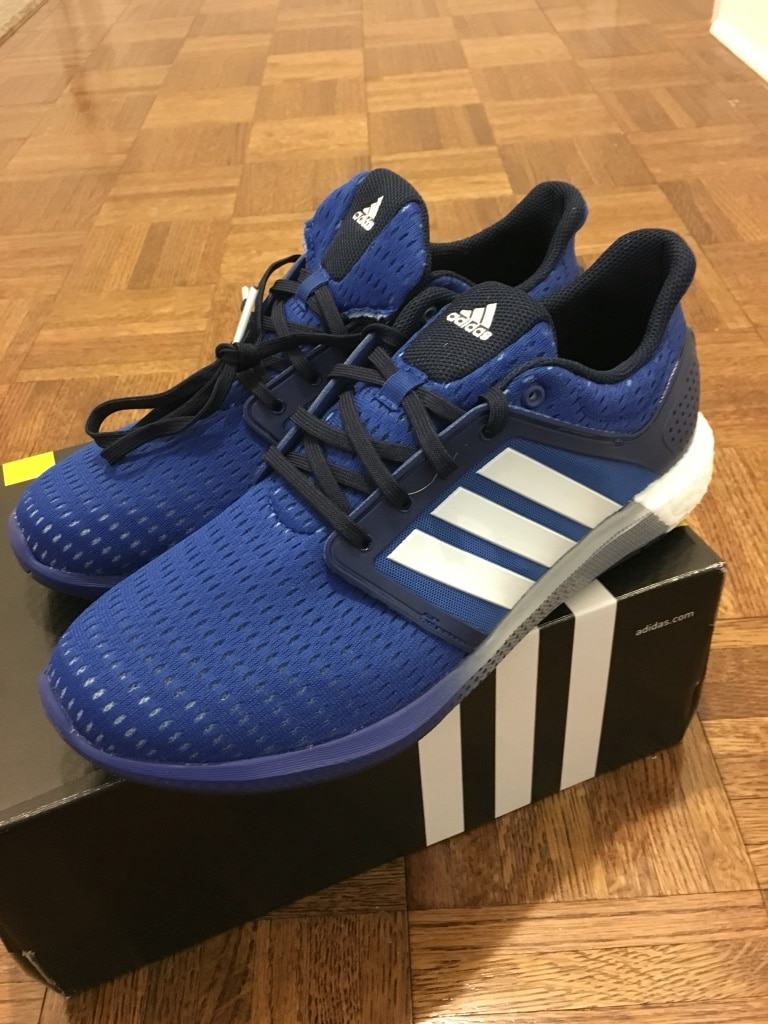 Used NEW wbox Adidas Solar Boost size 9.5 for sale in New