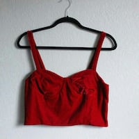 XL women's red spaghetti strap top Henderson, 89015