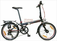 BICICLETA PLEGABLE DAHON SPEED D7 negro Catarroja, 46470