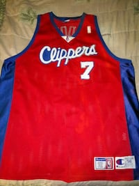 Authentic Clippers jersey