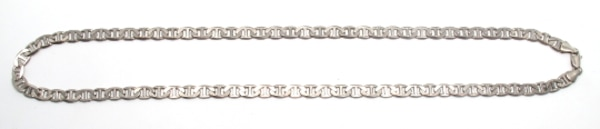 Mens Silver Mariners Link Chain