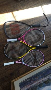 4 sports rackets Coppell, 75019