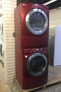 "Washer and dryer Maytag 27"" front load"
