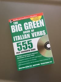 Big Green Book of Italian Verbs Toronto, M6K 3P8