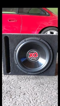 black and gray subwoofer speaker Anaheim, 92804