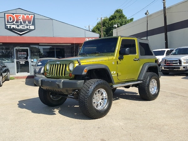 Used 2007 Jeep Wrangler Rescue Green Metallic Clearcoat Black Soft