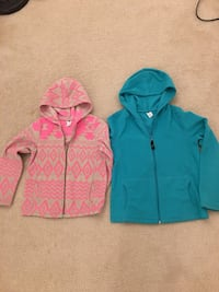 Pink and blue zip-up hoodie Fairfax, 22033