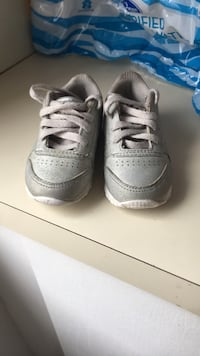 pair of gray Nike Air Force 1 low shoes New York, 11416