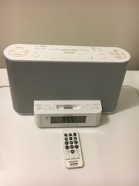 Sony AM / FM Clock Radio Mississauga, L5P