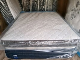 New Queen mattress coil. DELIVERY available. Bed not included