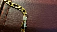 """18K GOLD PLATED STAMPED CHAIN NECKLACES 5MM 24""""   London, N6P 1P6"""