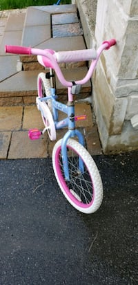 toddler's white and pink bicycle Richmond Hill, L4E 4B4