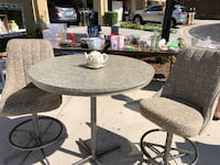 Table & 2 Chairs (Counter Height) 820 mi