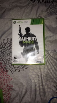 Call of Duty MW3 Xbox 360 game case Ottawa, K1T
