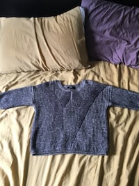 Cropped Gray Knit Sweater size S Manassas, 20109