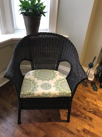 Never Used Dark Brown Synthetic Rattan Chair Toronto, M6S 3T9