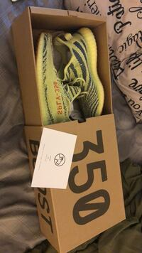 Authentic Frozen Yellow  350 Yeezy Silver Spring, 20904