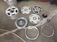 """Wheels, Hubcaps, and More 15"""" and 14"""" Best offer Ellwood City"""