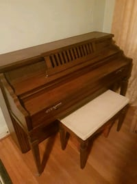 Mason and Risch Piano + Bench