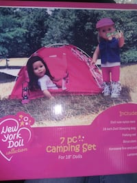 Camping set for dolls