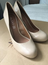 Aldo Size 6 leather heels Toronto, M4Y 3B8