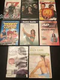 MOVIES & EXERCISE DVD'S Tyler, 75706