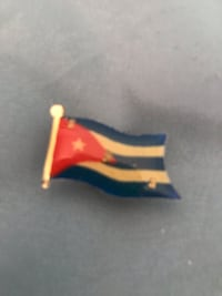 Cuba flag flashing pin Wellington, 33414