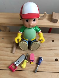 Melissa and Doug work bench and Bob the builder. Everett, 02149