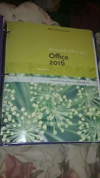 Office 2016 loose leaf book for Sinclair