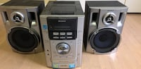 Sony stereo CD and Tape player.  Toronto, M1L 3M3